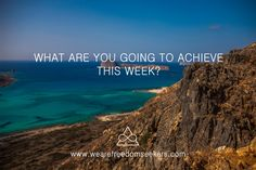 What are your #intentions for the week? What do you want to #achieve? Tell us more about you :)