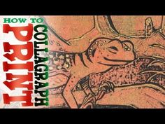 How to Collagraph Print, plus Viscosity Printing (Printmaking)