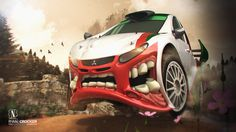 Mitsubishi Rally Beast on the Behance Network