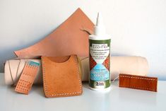 Picture of How to Glue Leather for Sewing