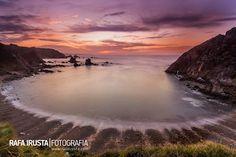 Playa del Silencio, Asturias.