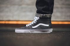 17b416ce1c The Iconic Vans Sk8-Hi Receives a Tweed Update for the Fall