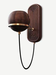 Top 10 Interior Design Trends I saw at ICFF 2018 - Jessa Giarratano - Medium Sconce Lighting, Cool Lighting, Lighting Design, Dining Room Light Fixtures, Bathroom Light Fixtures, Lamp Design, Chair Design, Design Design, Types Of Lighting
