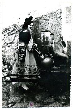 SALAMANCA, TRAJE TIPICO, CANDELARIO, P24577 (Postales - España - Castilla y León Antigua (hasta 1939) - Salamanca)