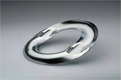 Françoise van den Bosch, 1970, Stainless steel necklace, made of two parts. Collection Françoise van den Bosch Foundation