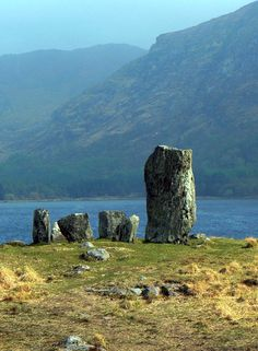 Uragh Stone Circle, a neolithic stone circle in Gleninchaquin Park, County Kerry