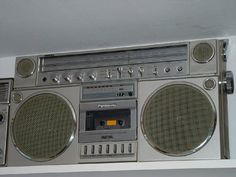 I owned one of these bad boys! I loved recording my favorite tunes off of the radio - Panasonic Boombox.