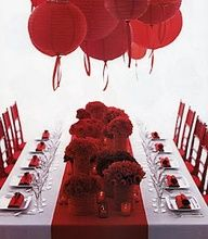 Weddings | Fire Engine Red - Red wedding inspiration - #red #weddings #reception #decor
