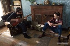 Thomas-Brodie Sangster and Aaron Taylor-Johnson in Nowhere Boy Nowhere Boy, Life Moves Pretty Fast, Maze Runner Thomas, Movies For Boys, Aaron Taylor Johnson, Thomas Brodie Sangster, The Marauders, Film Stills, Series Movies
