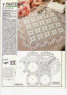 Inspirations Croche with Any Lucy: Towel Crochet Potholders, Crochet Quilt, Crochet Squares, Crochet Home, Thread Crochet, Crochet Granny, Crochet Motif, Crochet Doilies, Crochet Flowers