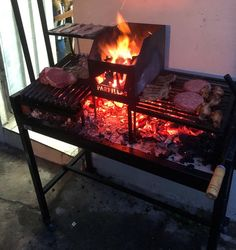 Outdoor Grill Area, Outdoor Oven, Outdoor Cooking, Outdoor Dining, Custom Bbq Pits, Custom Bbq Smokers, Diy Wood Stove, Argentine Grill, Bbq Hut