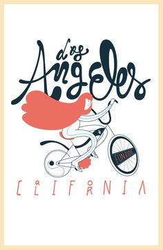 Los Angeles Tees on the Behance Network