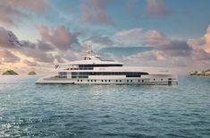 Heesen Yachts' Project Altea is Ridiculously Awesome! Yacht Broker, Custom Carpet, American Walnut, Yacht Design, Floor To Ceiling Windows, Luxury Interior, Nice View, Cruise, Cool Designs
