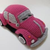 Classic Mini Cooper (inspired) Amigurumi Toy Car amigurumi pattern - Amigurumipatterns.net