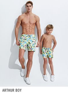 Bluemint Mens Swimwear and Lounge collection for beach and poolside