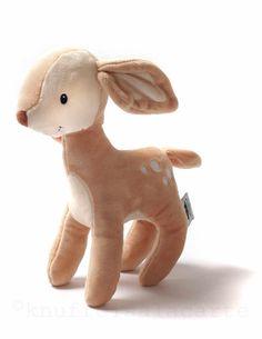 NEW fawn stuffed toy & rattle http://www.knuffelsalacarte.nl/Fern-Fawn-knuffel-rammelaar-p-16857.html