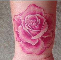 Leading Tattoo Magazine & Database, Featuring best tattoo Designs & Ideas from around the world. At TattooViral we connects the worlds best tattoo artists and fans to find the Best Tattoo Designs, Quotes, Inspirations and Ideas for women, men and couples. Coloured Rose Tattoo, Pink Rose Tattoos, Girly Tattoos, Trendy Tattoos, Tattoos For Women, Tatoos, Rose Outline Tattoo, Flower Tattoo Drawings, Flower Tattoo Back