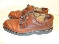 Men's Dockers WATERPROOF Comfort Shoes Leather Walking Hiking Oxford-11.5 M #Dockers #Oxfords