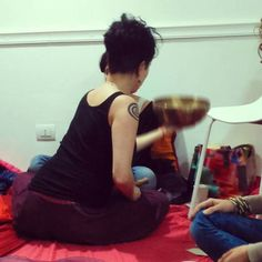 #yukiveg e le mie adorate campane tibetane #amoilmiolavoro