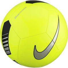 Nike Pitch Training Soccer Ball, Volt/Black/Gray
