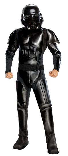 Star Wars Costumes for Women   Deluxe Star Wars Shadow Trooper Adult Costume - Star Wars Costumes