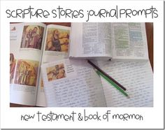 journal prompts for the Book of Mormon and the New Testament