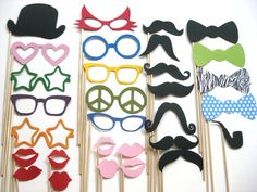 Photo Booth Props ULTIMATE Collection 2 30 por TheManicMoose