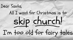 Athiests Encourage Famliies to Skip Church this Christmas ~ RELEVANT CHILDREN'S MINISTRY