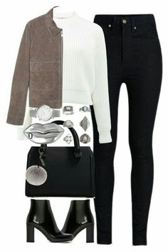 Date outfits, school outfits, college outfits, stylish outfits, fashion . Polyvore Outfits, Preppy Outfits, Classy Outfits, Outfits For Teens, Stylish Outfits, Cool Outfits, Fashion Outfits, Fashion Shirts, Girl Clothing