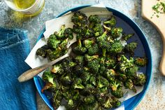 This grilled broccoli is dressed simply in tamari, olive oil and balsamic vinegar It results in crisp-tender florets that are beautifully sweet and salty beneath the smoke.