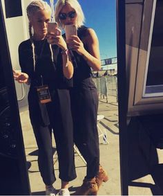 Lottie tomlinson and lou teasdale 2015