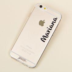 #Capinha com nome em preto #case #phone