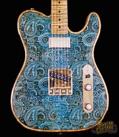 Walla Walla T-Top Blue Paisley