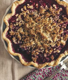 Get a lesson from the ultimate Pie School: Marionberry Pie with Hazelnut Crumble. Details all here.