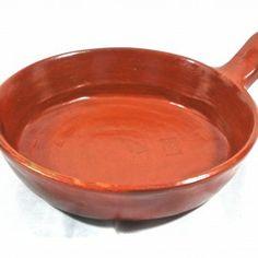 Ethiopian Handmade Unglazed Clay Frying Pan