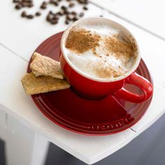 Serve your morning coffee in style with our set of 2 Cups & Saucers.