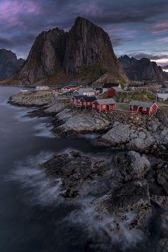 Hamnøy Sunrise by samikohonen - Image Of The Month Photo Contest Vol 16