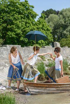 Trachtenrock meets sweet summer fun. by Die Rockmacherin