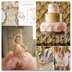 blush and gold wedding inspiration... Ahh I loveee this. For me. One day haha