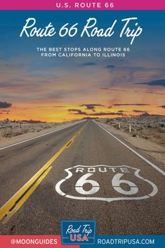 Head out on old Route 66 with this helpful road trip guide, which includes printable maps, recommendations for iconic stops and things to do in every state from California to Chicago, and historical information.