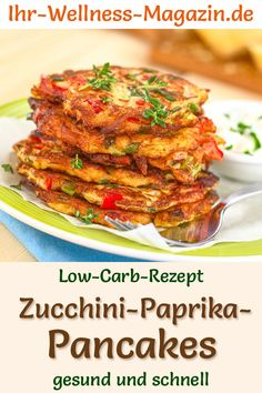 Low Carb Pancakes, Cordon Bleu, Easy Healthy Breakfast, Vegetable Dishes, Tandoori Chicken, Finger Foods, How To Stay Healthy, Brunch, Vegan Recipes