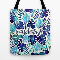 Statement Bag - Palm Tree Sunrise by VIDA VIDA pVHuG