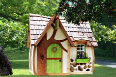 backyard fairy playhouse | Playhouse Dreams