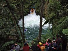 Okere Falls, Rotorua, NZ - Viewing Platforms