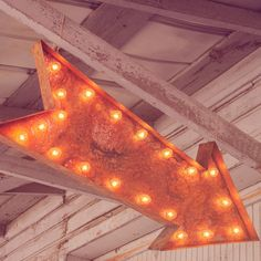Large Arrow Marquee Light from The Rusty Marquee