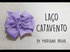 Laço Boutique com Pontas - Super fácil - DIY - YouTube