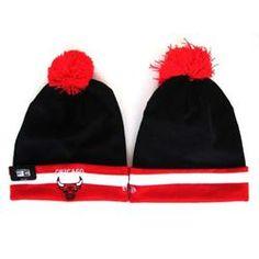 f882e57da33 New Era NBA Chicago Bulls Adjustable Knit Cap