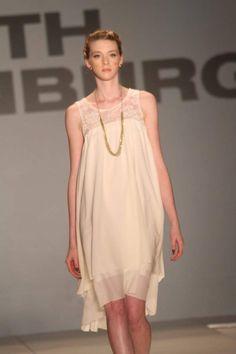 Featured designer and SCAD grad Faith Thornburg's runway show at Charleston Fashion Week's Fashion Finale