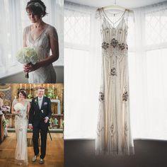 2016 Jenny Packham Luxury Beaded Wedding Dresses Gorgeous Vintage Bridal Gowns Floor Length Sexy V Neck Sheer Back Custom Made