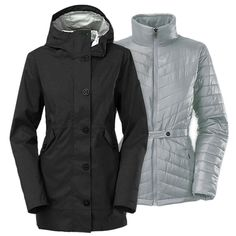 The North Face Aeliana Triclimate Jacket - $181 removable liner